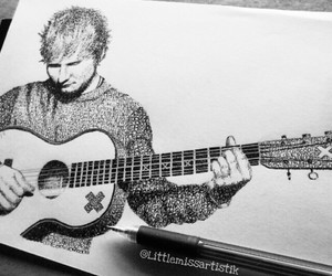 fanart, bloodstream, and ed sheeran image