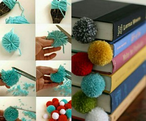 book, diy, and bookmark image