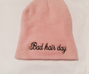 bad hair day, love, and beanie image