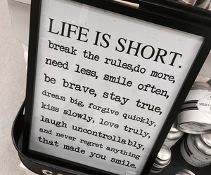 life, smile, and brave image
