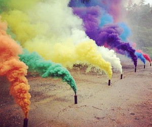 colors and smoke image