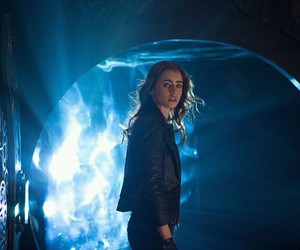 city of bones, clary, and lily collins image