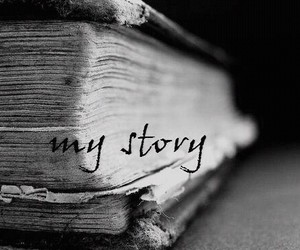 book, story, and my story image