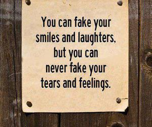 quote, feelings, and tears image