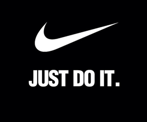 nike, black, and Just Do It image