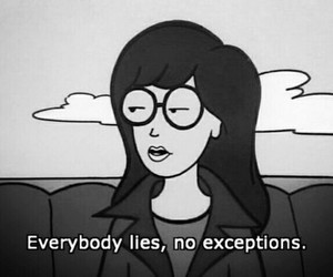 lies, Daria, and quotes image