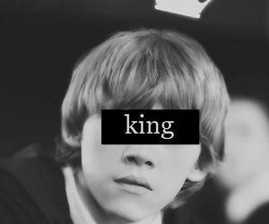 harry potter, king, and ron weasley image