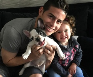 james rodriguez, family, and salome image