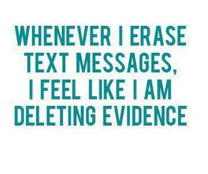 message, text, and erase image