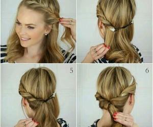 blonde hair, diy, and hair image