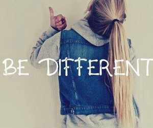 different, be different, and quote image