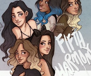 fifth harmony, art, and draw image
