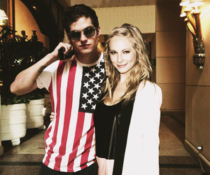 the vampire diaries, teen wolf, and candice accola image