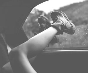 b&w, beautiful, and dr martens image