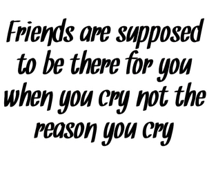 cry and friends image