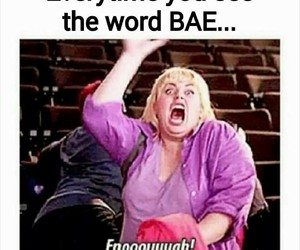 bae, funny, and lol image