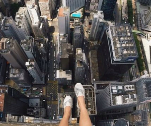 city, photography, and legs image