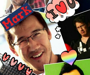 Collage, markiplier, and mark fischbach image
