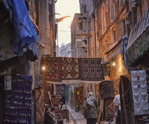 culture, street, and sunset image
