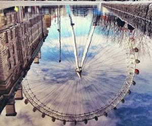 london, travel, and love image