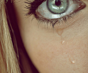 cry and girl image