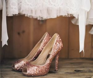 detail, shoe, and heels image