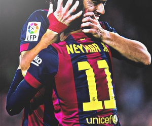 suarez, neymar, and Barca image