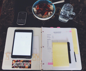 study, blackberry, and college image