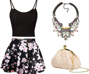 pink, fashion, and Polyvore image