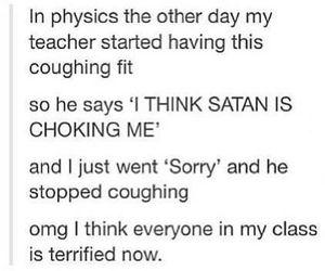 funny, satan, and lol image
