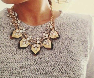 accessories, necklace, and girl image