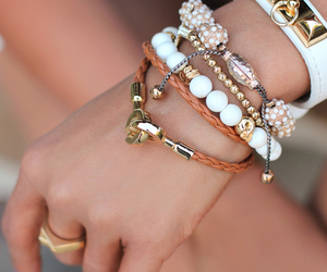 accessories, brown, and orange image
