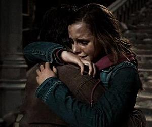 harry potter, hp, and hug image