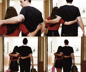 couple, glee, and hug image