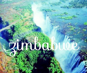 africa and zimbabwe image