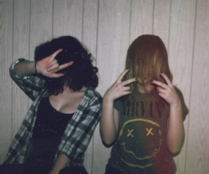 grunge, nirvana, and tumblr image
