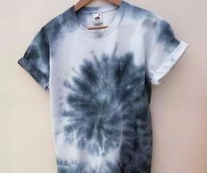 shirt, tie dye, and tumblr image