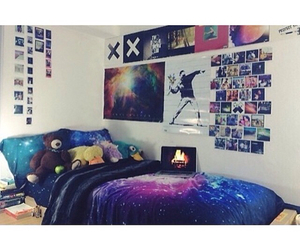 galaxy and room image