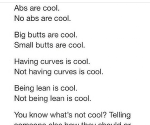 abs, butts, and cool image