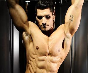 abs, belly, and men image
