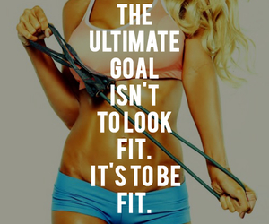 fabulous, fit, and fitness image