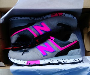 n, new balance, and shoes image