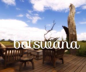africa and Botswana image
