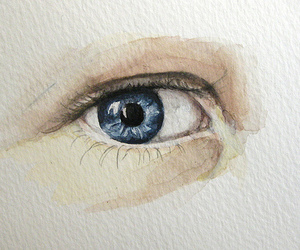 blue, illustration, and painting image