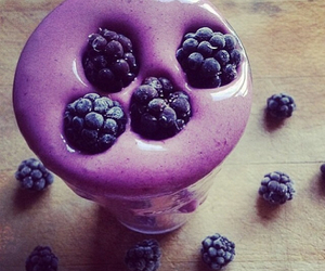 food, purple, and fruit image