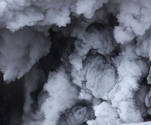 smoke, clouds, and grunge image