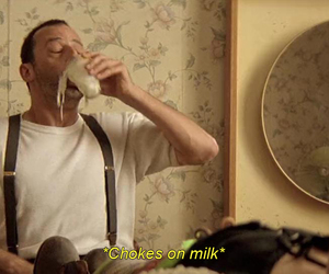 leon, milk, and the professional image