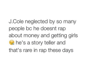 s, real shit, and j cole image