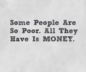 money, poor, and people image