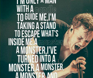 monster, imagine dragons, and music image